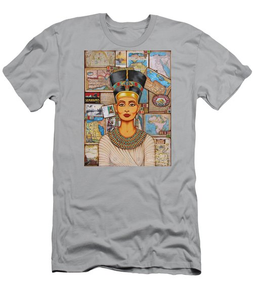 The Queen Of Amarna Men's T-Shirt (Athletic Fit)