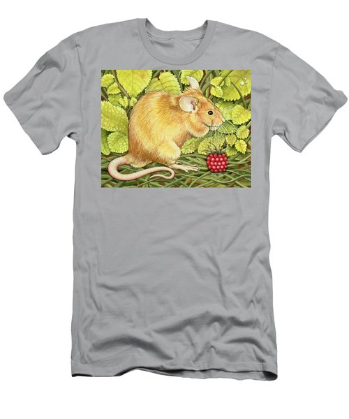 The Raspberry Mouse Men's T-Shirt (Athletic Fit)