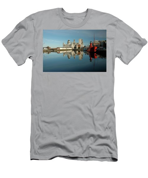 The Red Ship Men's T-Shirt (Slim Fit) by Jonah  Anderson