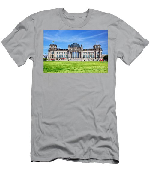The Reichstag Building Berlin Germany Men's T-Shirt (Athletic Fit)