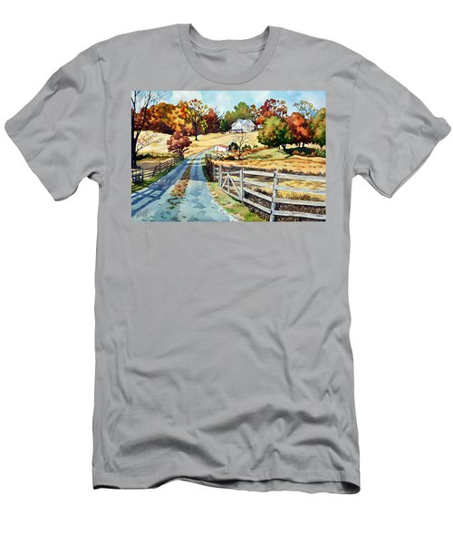 The Road To The Horse Farm Men's T-Shirt (Athletic Fit)