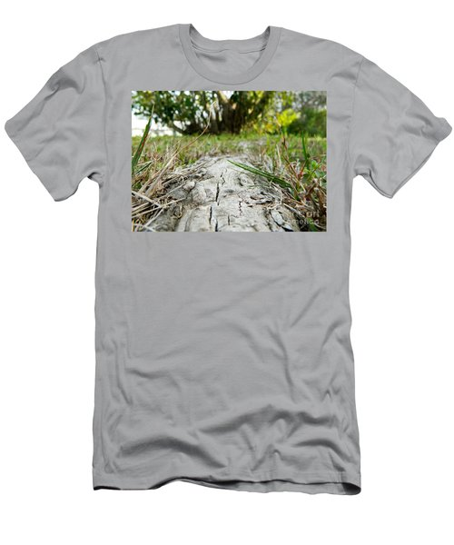The Root Of Happiness Men's T-Shirt (Athletic Fit)