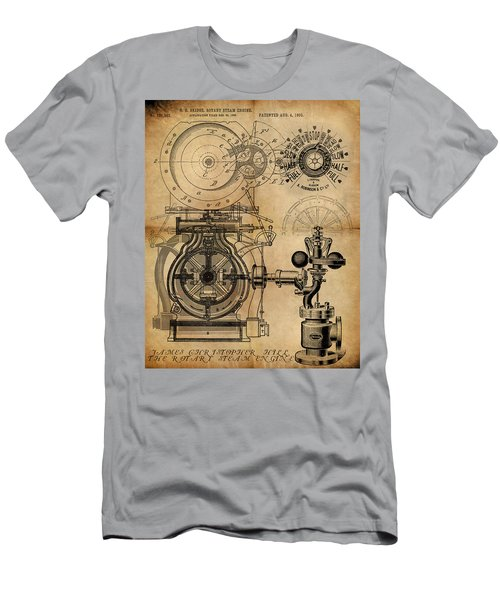 The Rotary Engine Men's T-Shirt (Athletic Fit)