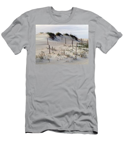 The Sands Of Obx Men's T-Shirt (Slim Fit) by Greg Reed