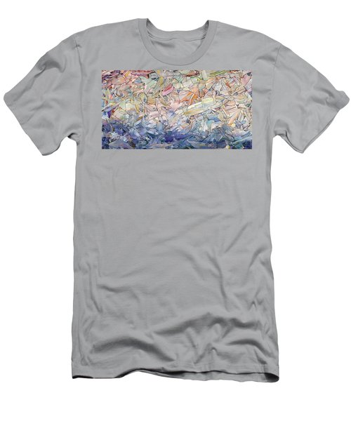 Fragmented Sea Men's T-Shirt (Athletic Fit)