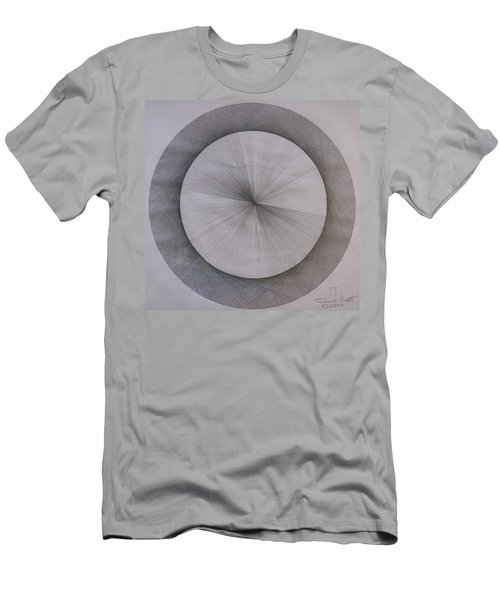 The Shape Of Pi Men's T-Shirt (Athletic Fit)