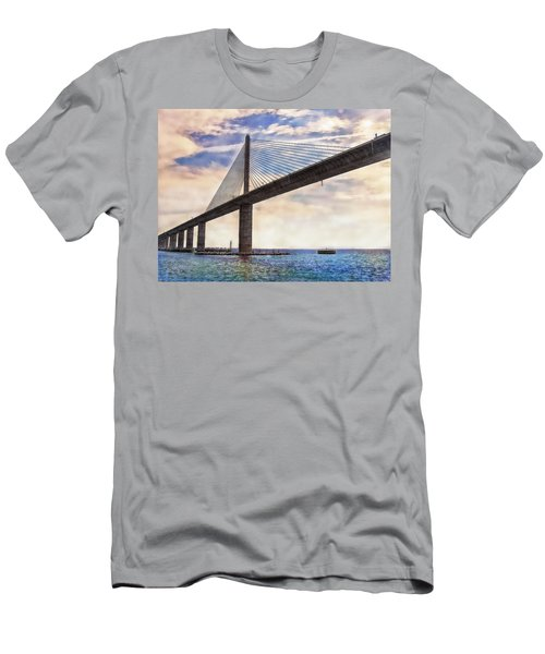 The Skyway Men's T-Shirt (Slim Fit) by Hanny Heim