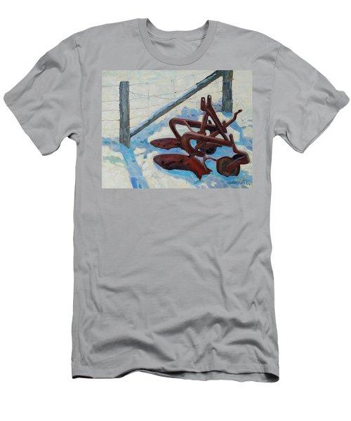 The Snow Plow Men's T-Shirt (Athletic Fit)