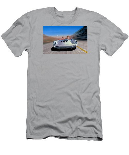 The Spirit Lives Men's T-Shirt (Slim Fit) by Michael Swanson