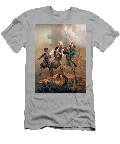 The Spirit Of 76 Men's T-Shirt (Athletic Fit)