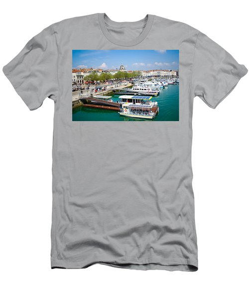 The Town And Port Of La Rochelle Men's T-Shirt (Athletic Fit)