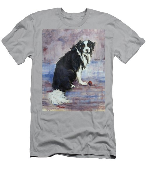Men's T-Shirt (Slim Fit) featuring the painting The Twilight Years by Cynthia House