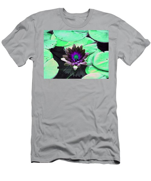 The Water Lilies Collection - Photopower 1113 Men's T-Shirt (Athletic Fit)