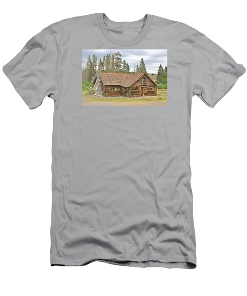Men's T-Shirt (Slim Fit) featuring the photograph The Way It Was by Marilyn Diaz