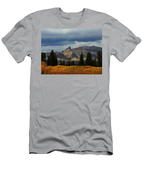 Men's T-Shirt (Slim Fit) featuring the photograph The Wedge by Raymond Salani III
