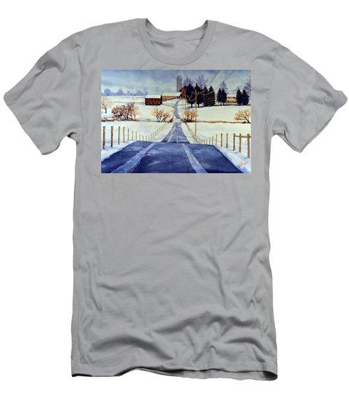 The White Season Men's T-Shirt (Athletic Fit)