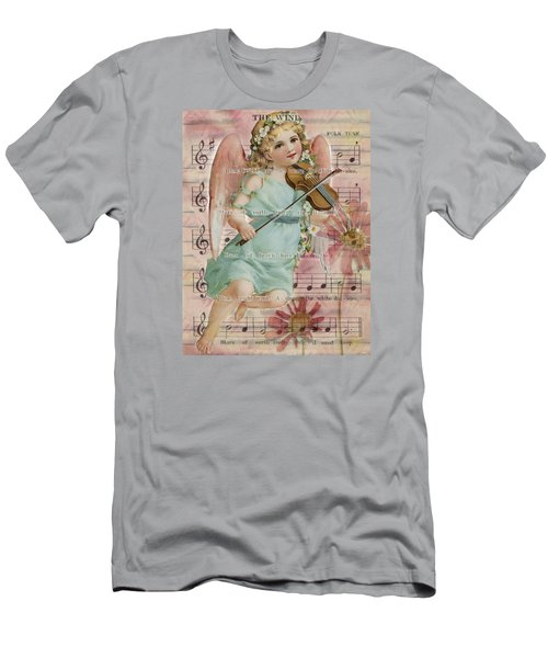 Men's T-Shirt (Slim Fit) featuring the photograph The Wind  by Sandra Foster