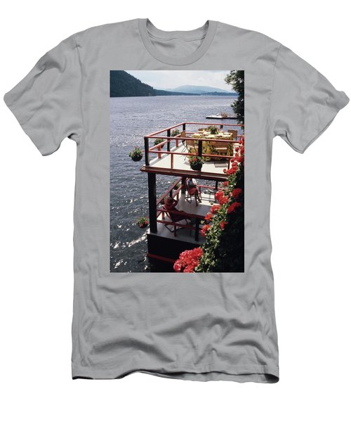 The Wyker's Deck Men's T-Shirt (Athletic Fit)