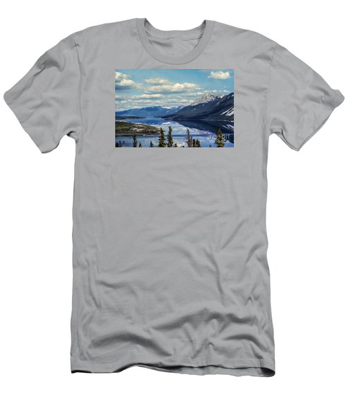 The Yukon Men's T-Shirt (Slim Fit) by Suzanne Luft