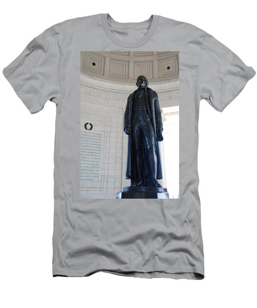 Thomas Jefferson Statue Men's T-Shirt (Athletic Fit)