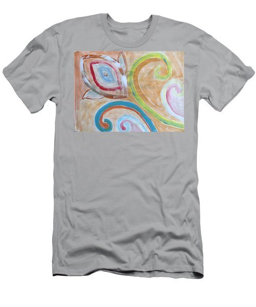 Men's T-Shirt (Slim Fit) featuring the painting Thought by Sonali Gangane