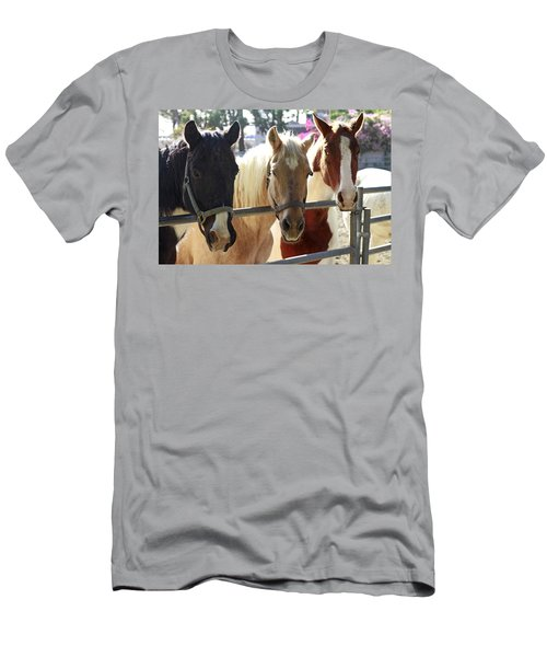 Three Amigos Men's T-Shirt (Slim Fit) by Shoal Hollingsworth