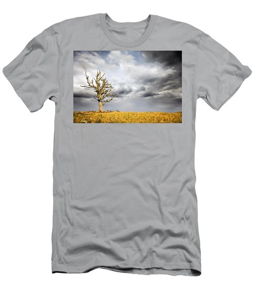 Through The Storms Men's T-Shirt (Slim Fit) by Lana Trussell