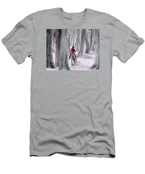Through The Woods Men's T-Shirt (Athletic Fit)