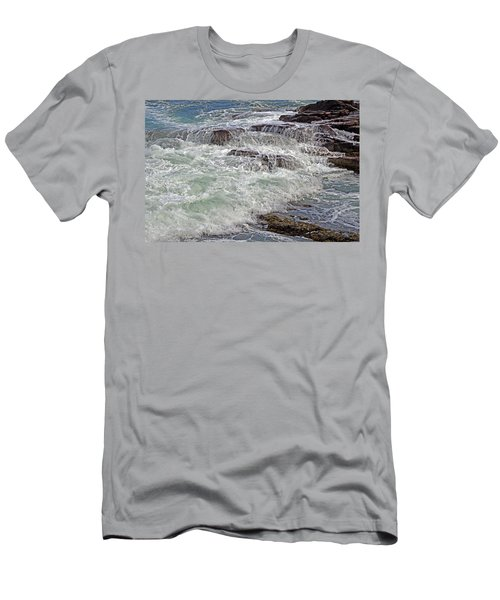 Thunder And Lace Men's T-Shirt (Slim Fit) by Lynda Lehmann