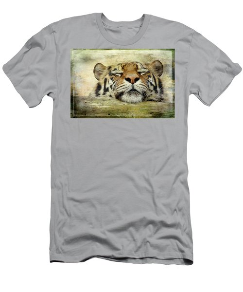 Tiger Snooze Men's T-Shirt (Athletic Fit)