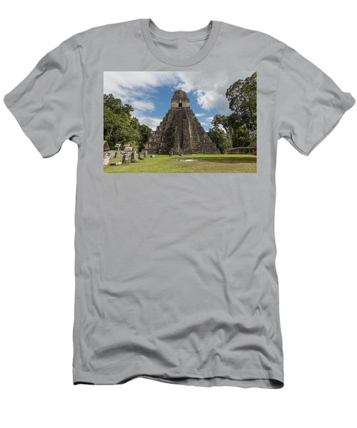 Tikal Pyramid 1j Men's T-Shirt (Athletic Fit)
