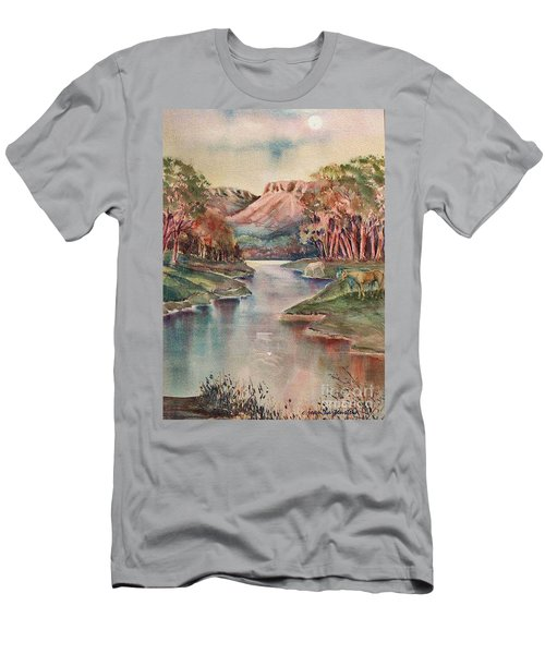 Timbercreek Canyon Dawn Men's T-Shirt (Athletic Fit)