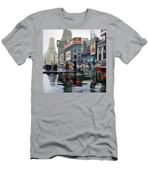 Times Square 1943 Reloaded Men's T-Shirt (Athletic Fit)