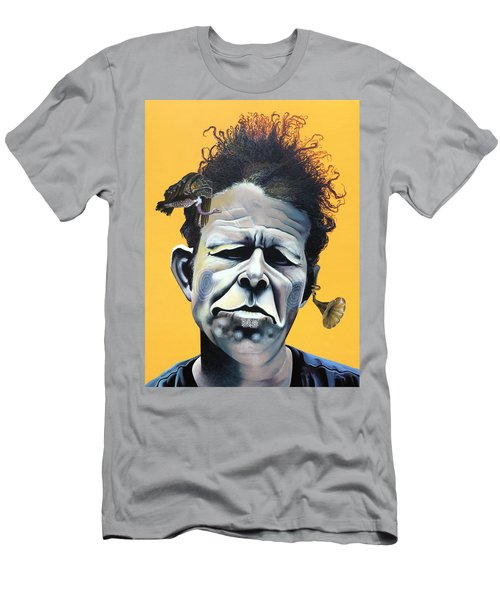 Tom Waits - He's Big In Japan Men's T-Shirt (Athletic Fit)