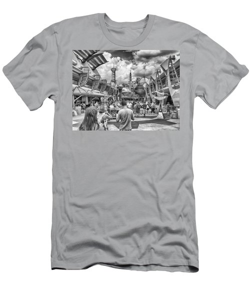 Men's T-Shirt (Slim Fit) featuring the photograph Tomorrowland by Howard Salmon