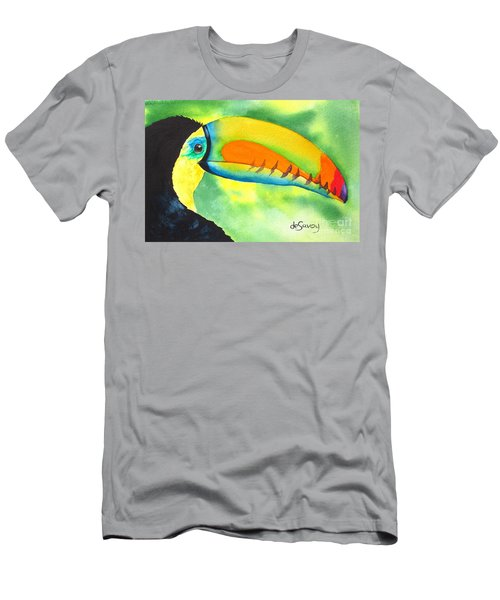 Men's T-Shirt (Athletic Fit) featuring the painting Tookey  by Diane DeSavoy