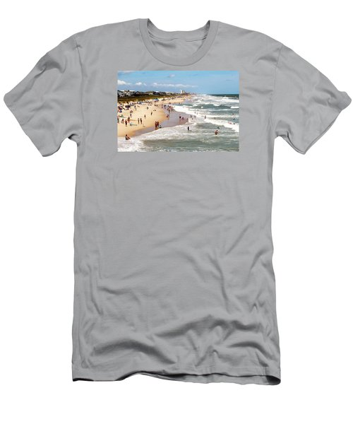Tourist At Kure Beach Men's T-Shirt (Athletic Fit)