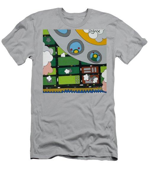 Tourists Men's T-Shirt (Slim Fit) by Rojax Art