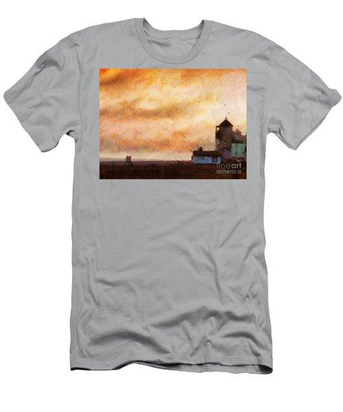 Towards The Shore Men's T-Shirt (Athletic Fit)