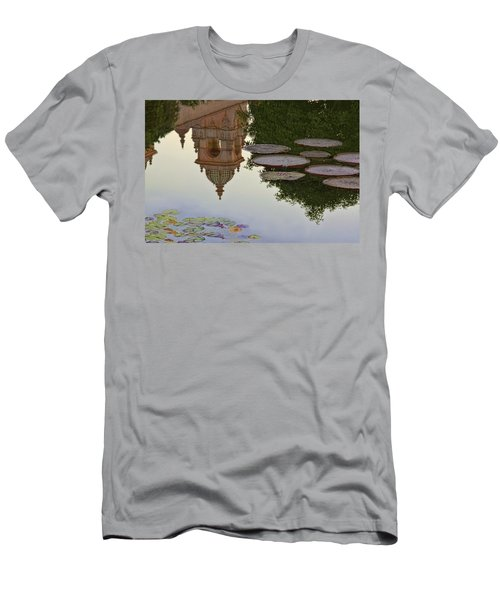 Men's T-Shirt (Slim Fit) featuring the photograph Tower In Lotus Position by Gary Holmes