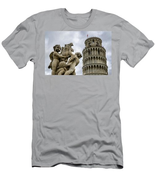Tower Of Pisa Men's T-Shirt (Athletic Fit)