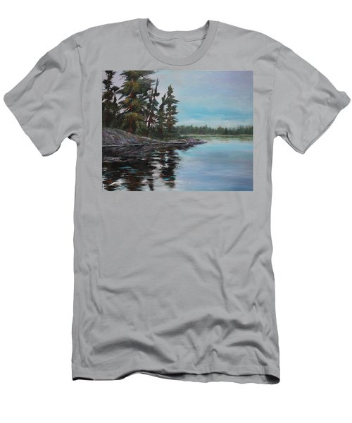 Tranquil Bay Men's T-Shirt (Athletic Fit)