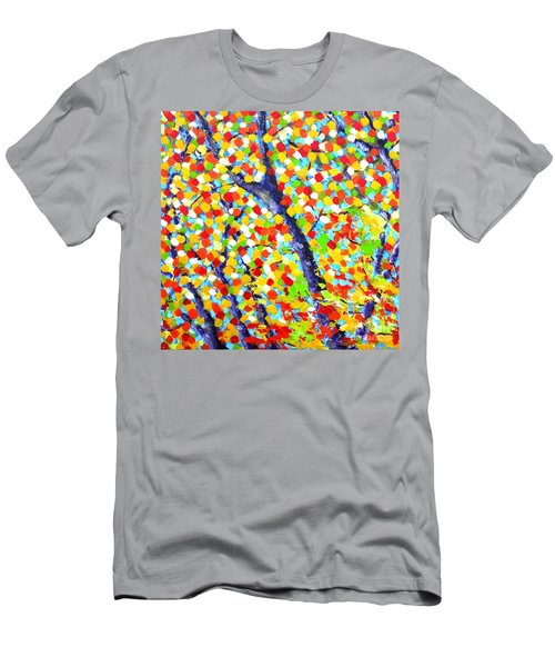 Tree At Fall Men's T-Shirt (Athletic Fit)
