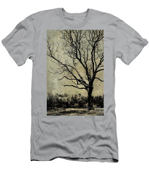 Tree Before Spring Men's T-Shirt (Athletic Fit)