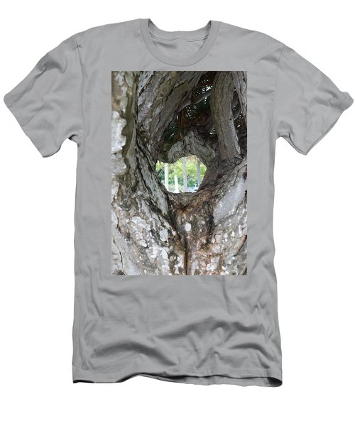 Men's T-Shirt (Slim Fit) featuring the photograph Tree View by Rafael Salazar