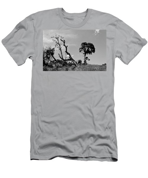 Men's T-Shirt (Slim Fit) featuring the photograph Trees In Cloud Forest by Lana Enderle