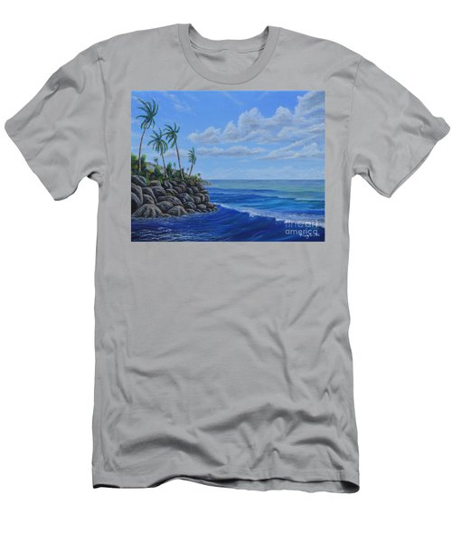 Tropical Day Men's T-Shirt (Athletic Fit)