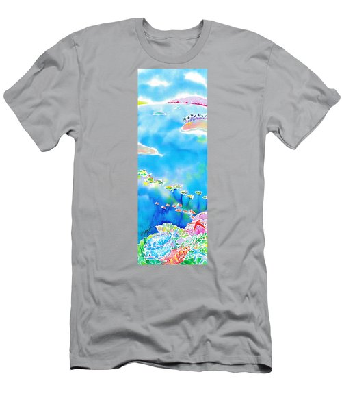 Tropical Fishes Men's T-Shirt (Athletic Fit)