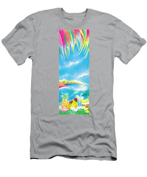 Tropical Fruits Men's T-Shirt (Athletic Fit)