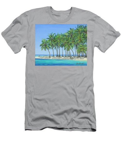 Tropical Lagoon Men's T-Shirt (Athletic Fit)